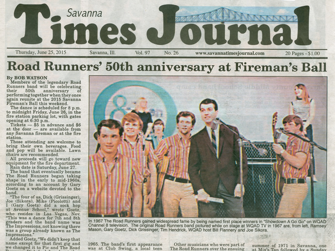 Times Journal Road Runners 50th Anniversary